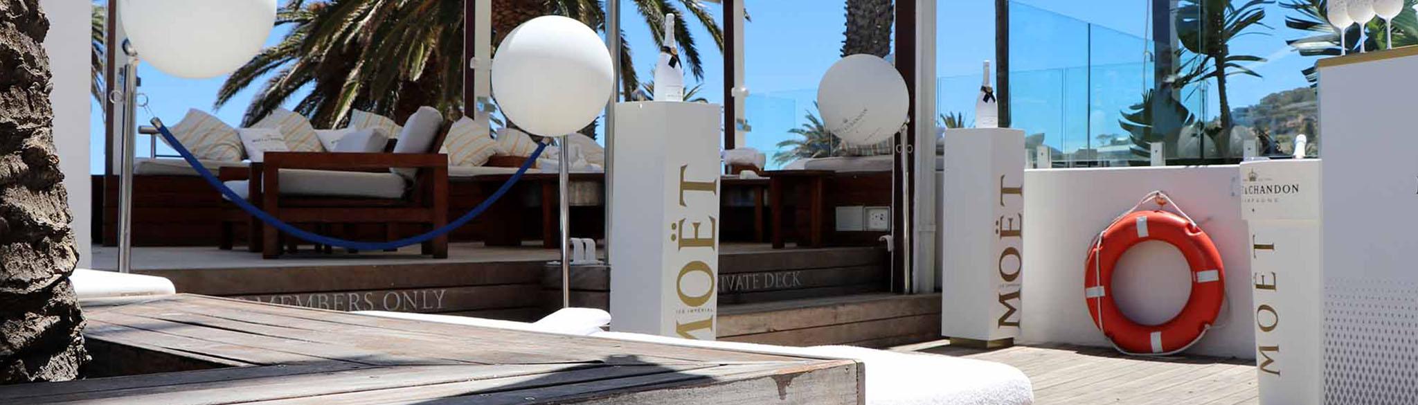 Sandy B Moet VIP Lounge